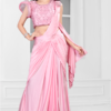 Fancy Ready To Wear Imported Lycra Saree
